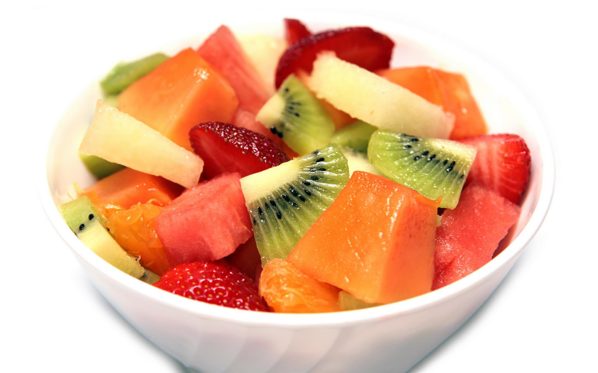 Диетический фруктовый салат рецепт с пошагово