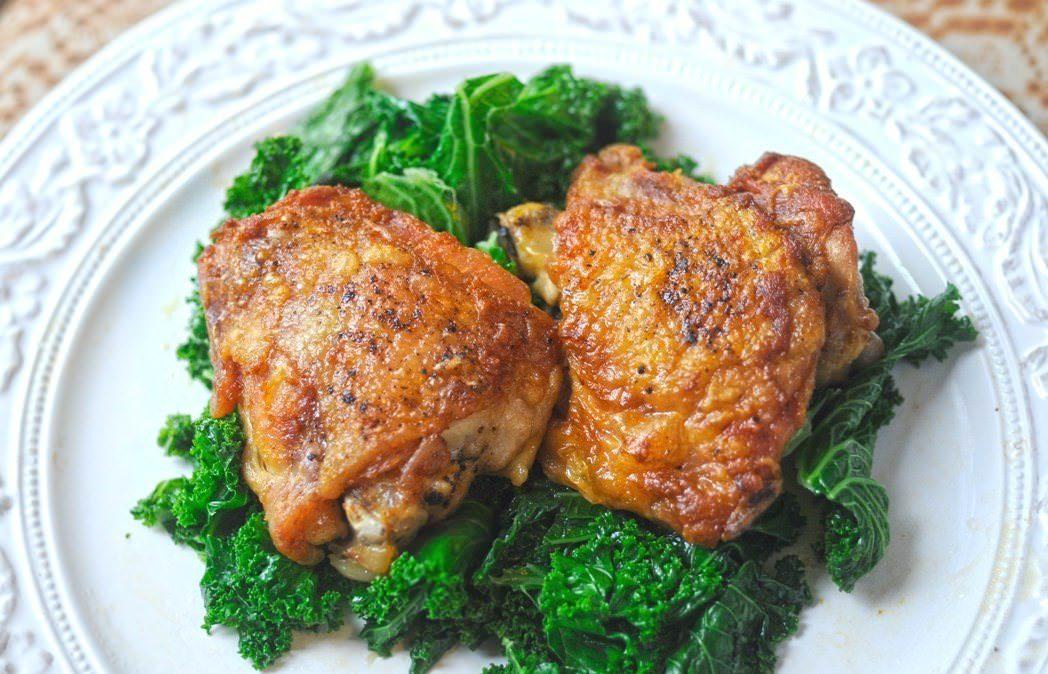 6.бедра куриные запеченые